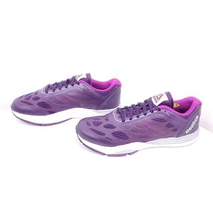Reebok sneakers purple women size 7.5